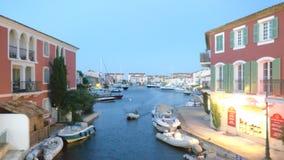 Porto Grimaud fotografie stock libere da diritti