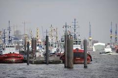 Porto, Hamburgo Imagens de Stock