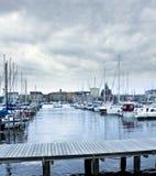 Porto a Helsinki Fotografia Stock Libera da Diritti