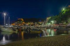 Porto Hercule Fotografie Stock Libere da Diritti