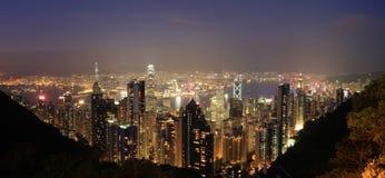 Porto Hong Kong della Victoria Fotografie Stock Libere da Diritti