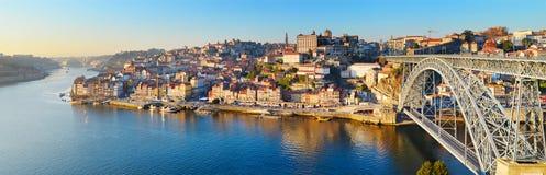 Porto horisont, Portugal royaltyfri bild