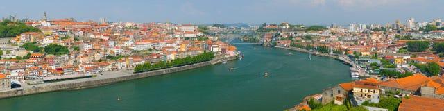Porto i en sommardag Fotografering för Bildbyråer