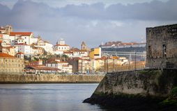 Porto i Gaia marginesy zdjęcie royalty free