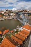 Porto im historischen Stadtzentrum Portugals Lizenzfreie Stockbilder