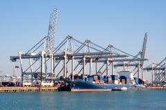 Porto industrial Fotos de Stock