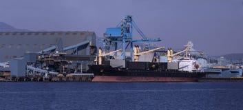 Porto industrial Imagens de Stock