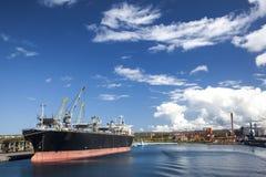 Porto industrial Imagem de Stock Royalty Free