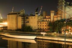 Porto industriale in marghera Fotografie Stock