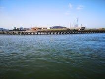 Porto industriale Norfolk fotografie stock