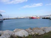 Porto inglese Fotografie Stock