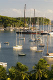 Porto inglese Antigua i Caraibi del paesaggio Immagini Stock