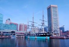 Porto interno de Baltimore Imagem de Stock Royalty Free