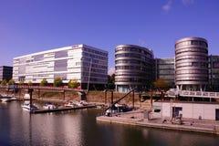Porto interno Duisburg Fotografie Stock Libere da Diritti