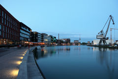 Porto interno a Munster, Germania Fotografia Stock