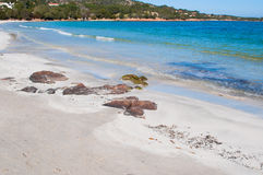 Porto Istana beach on a clear spring day Stock Images