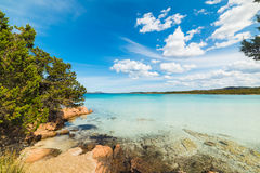 Porto Istana under clouds Stock Image