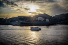 Porto Japão de Nagasaki Foto de Stock