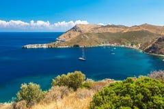 Porto Kagio Griechenland Lizenzfreie Stockfotos