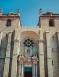 Porto katedry fasada obraz royalty free