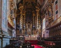 Porto katedry sala fotografia stock