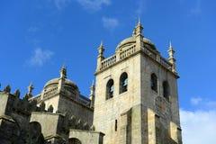 Porto Kathedraal, Porto, Portugal Royalty-vrije Stock Afbeeldingen
