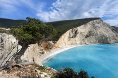 Porto Katsiki beach (Greece) Royalty Free Stock Photo