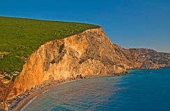 Porto Katsiki beach, Lefkada Stock Images