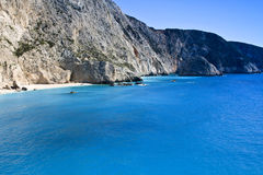 Porto Katsiki beach at Lefkada, Greece Stock Photo