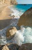 Porto Katsiki beach (Lefkada, Greece) Stock Photo