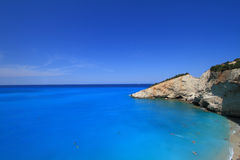 Porto Katsiki beach Royalty Free Stock Images