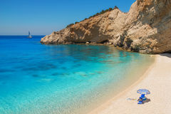 Porto Katsiki beach, Lefkada Stock Photo