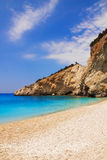 Porto Katsiki beach, Lefkada Stock Image