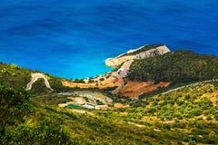 Porto Katsiki beach, Lefkada Stock Photography