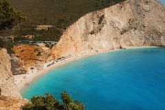 Porto Katsiki beach, Lefkada Royalty Free Stock Photo