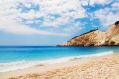 Porto Katsiki beach, Lefkada Royalty Free Stock Images