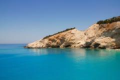 Porto Katsiki beach, Lefkada Stock Photos