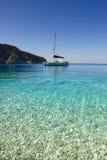 Porto Katsiki beach, Lefkada Royalty Free Stock Image