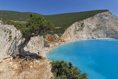 Porto Katsiki Beach, Lefkada, Ionian Islands Stock Photography