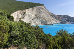 Porto Katsiki Beach, Lefkada, Ionian Islands Stock Photo