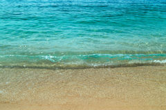 Porto Katsiki beach at Lefkada island Stock Photography