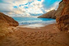 Porto Katsiki beach on Lefkada island Royalty Free Stock Photography