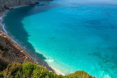 Porto Katsiki beach at Lefkada island, Greece Royalty Free Stock Image