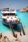 Lefkada Island Travel Excursion Stock Photography