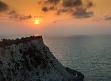 Porto Katsiki Lefkada Fotografia Stock