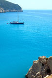 Porto Katsiki in Lefkada island Greece Royalty Free Stock Photos