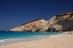 Porto Katsiki -Lefkas Greece Royalty Free Stock Photo