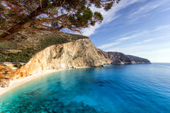 Porto katsiki in leykada Royalty Free Stock Photography