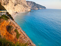 Porto Katsiki at sunset Stock Photography