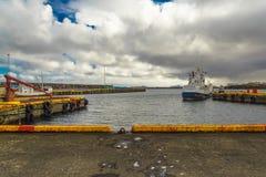 Porto Keflavik Fotos de Stock